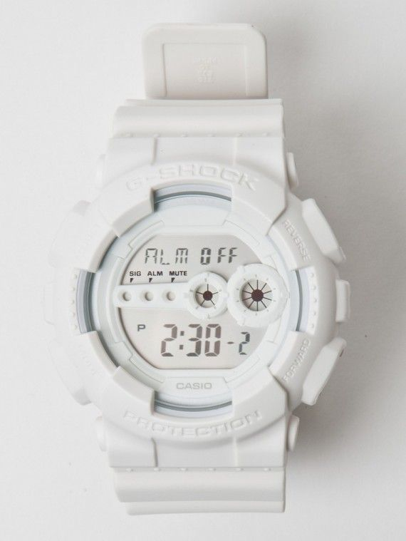 53e181b5a657 Casio G-Shock - GD-100 - White