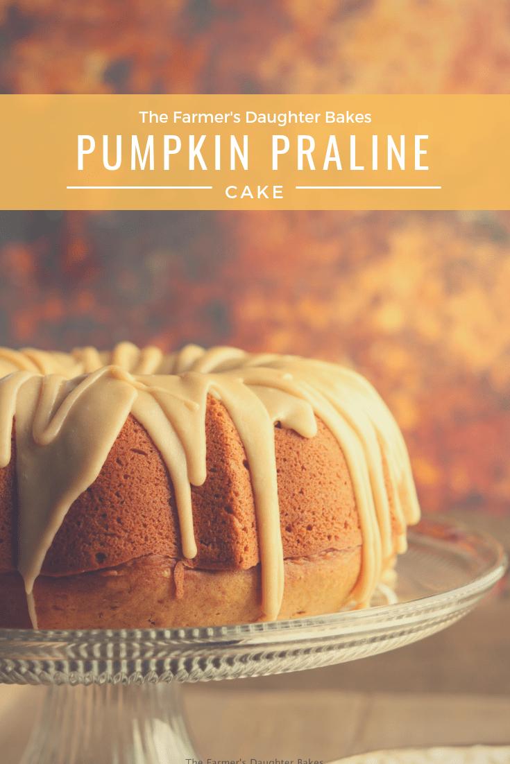 Perfect Pumpkin Praline Cake #pralinecake