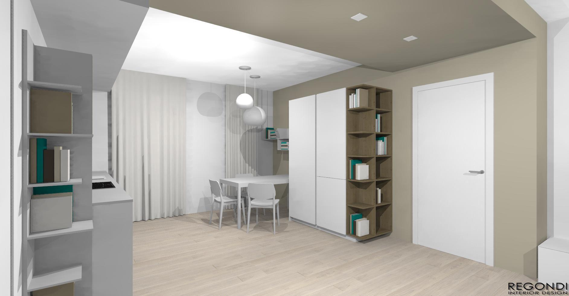 Total Home Design Cucina Euromobil Zona Living Zalf Desiree ...