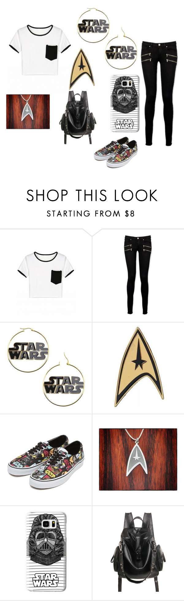 """""""Starwars"""" by faithdoss ❤ liked on Polyvore featuring Paige Denim and Casetify"""