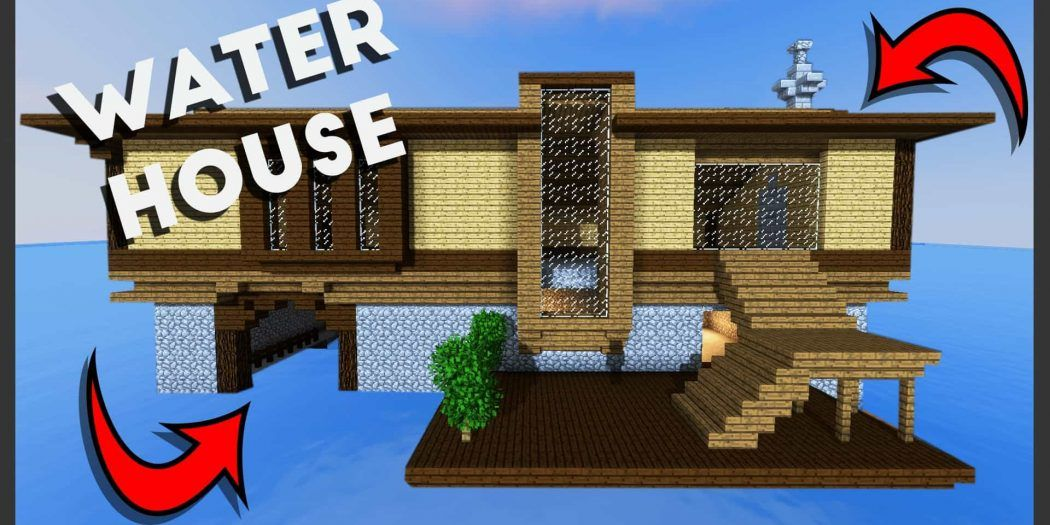 Minecraft: How to Build a Survival House on Water (Best House ... on minecraft skin house, minecraft beach house, minecraft iron house, minecraft island house, minecraft wood house, minecraft medieval house, minecraft shit house, minecraft dock house, minecraft ocean house, minecraft underground house, minecraft modern house, minecraft lake house, minecraft sunken house, minecraft lava house, minecraft floating house, minecraft glass house, minecraft survival house, minecraft house designs, minecraft tree house, minecraft open house,