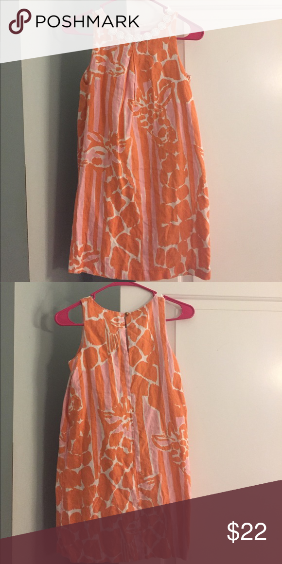 e5a6186a8805a8 Lilly Pulitzer Giraffe large 10 12 Easter dress Perfect for Easter! Lilly  for Target, fully lined giraffe print dress. Lilly Pulitzer Dresses Casual