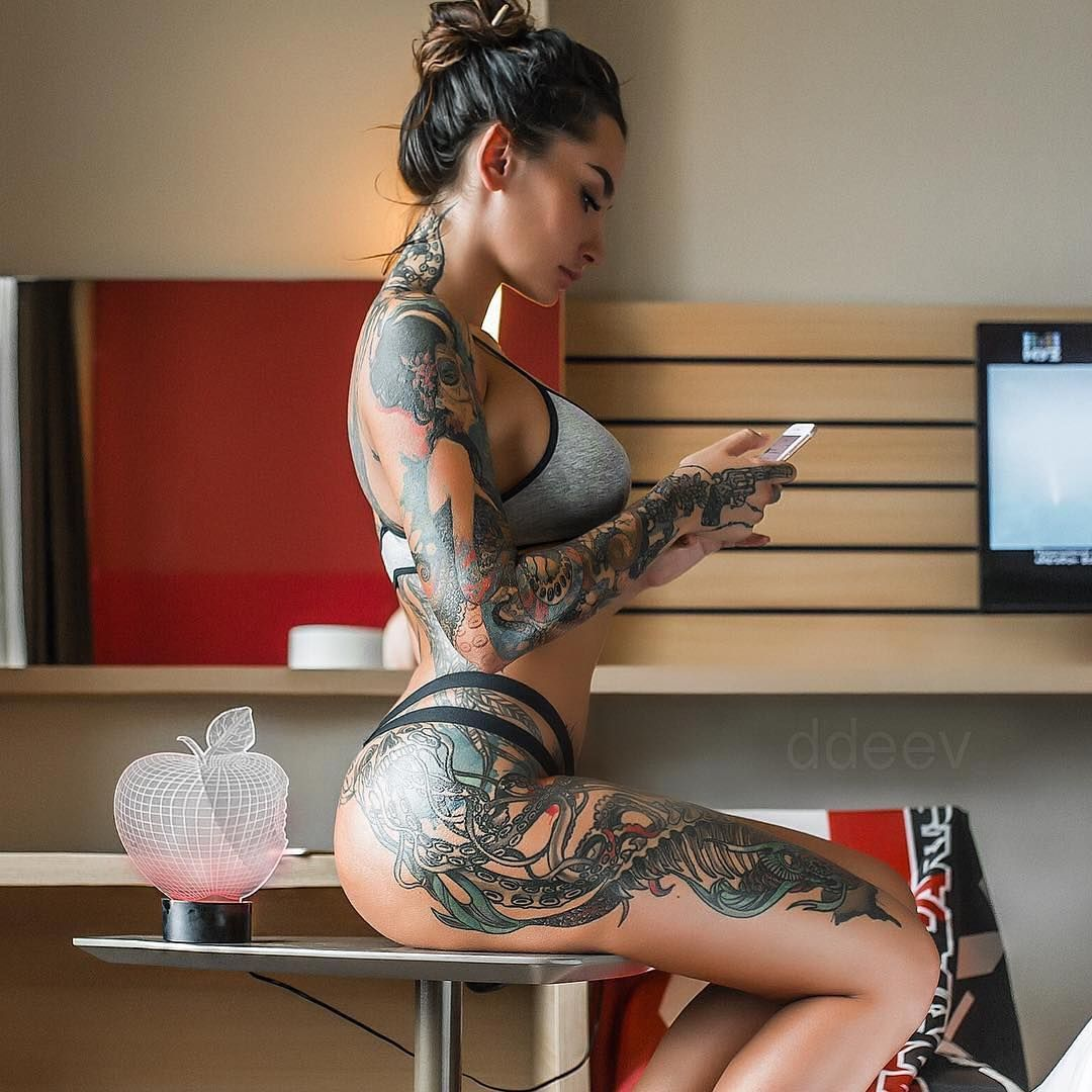 4 665 Likes 51 Comments Tattooed Girls Tattooed Girls On
