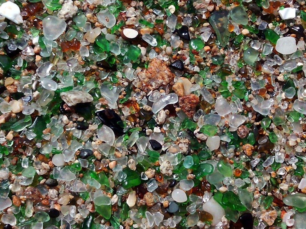 Playa de los cristales. Laxe. A Coruña