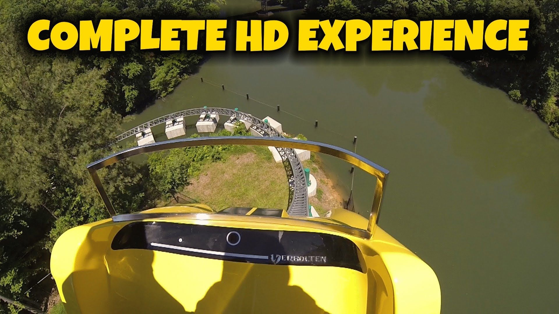 Verbolten On-ride Front Seat (Complete HD Experience) Busch Gardens ...