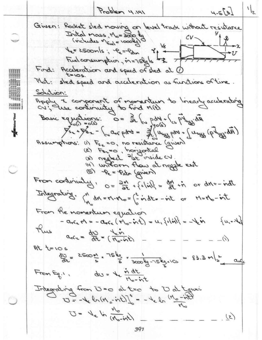 [Solution manual] fluid mechanics fox & mcdonald
