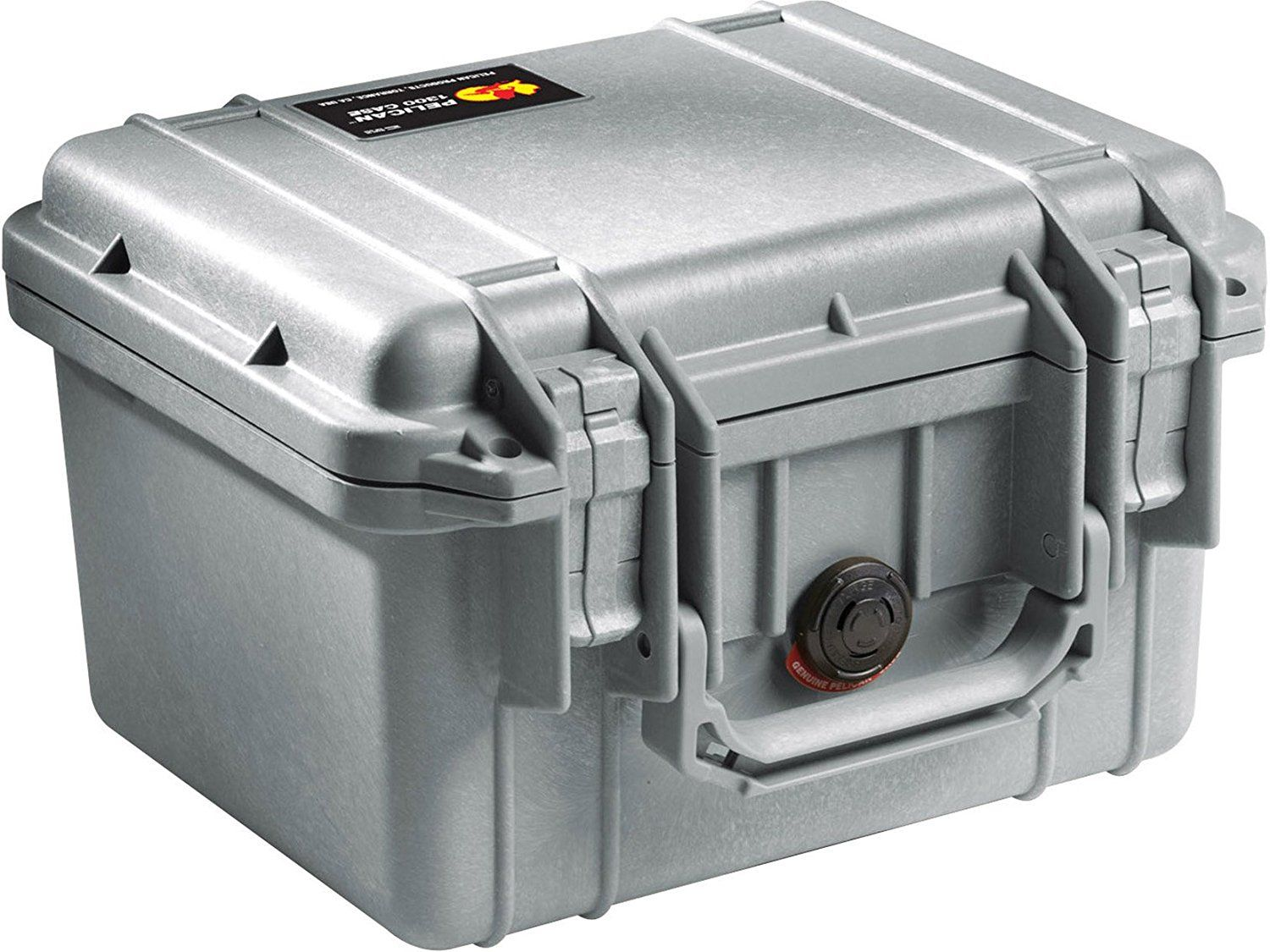 Pelican 1300 Case with Foam for Camera  - Silver *** You can get more details by clicking on the image. (This is an Amazon Affiliate link and I receive a commission for the sales)