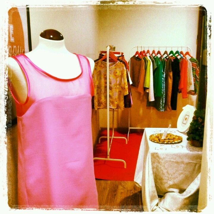 maggie plumcake`s dress at trendy christmas days showroom