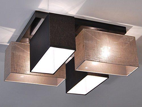 Deckenlampe - HausLeuchten JLS4126D, Deckenleuchte, Leuch   - deckenlampen wohnzimmer modern