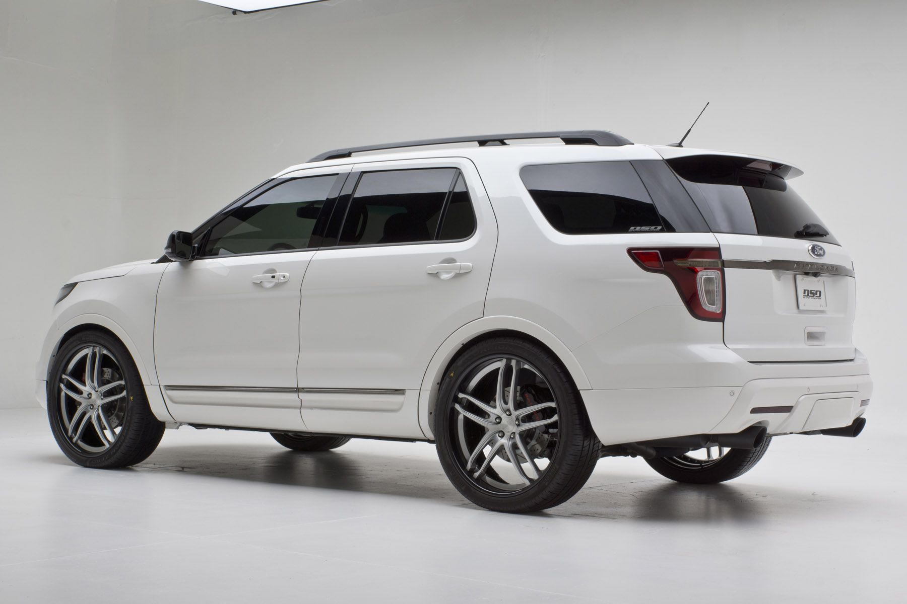 2012 Ford Explorer Limited By Dso Eyewear Exterior Basf Pearl Tri Coat White Finished In