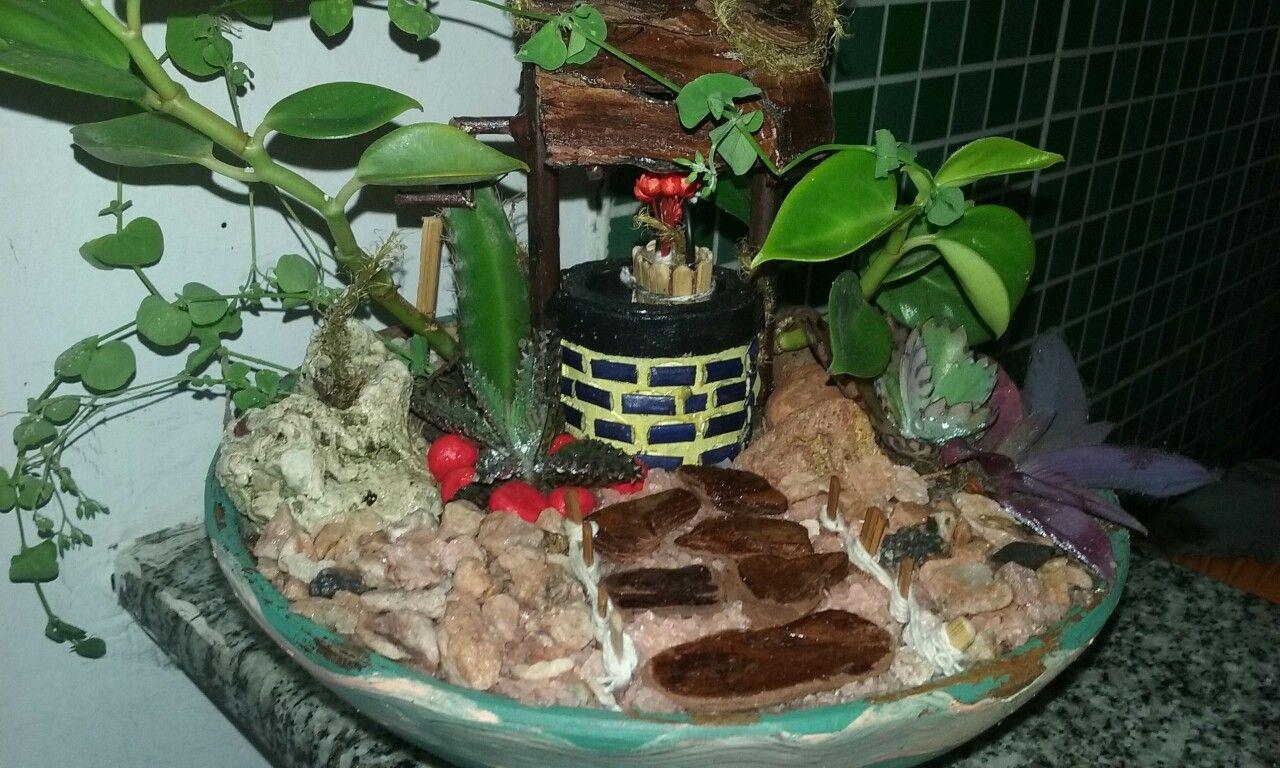 Mini jardim de poço. Peça à venda em minha loja.