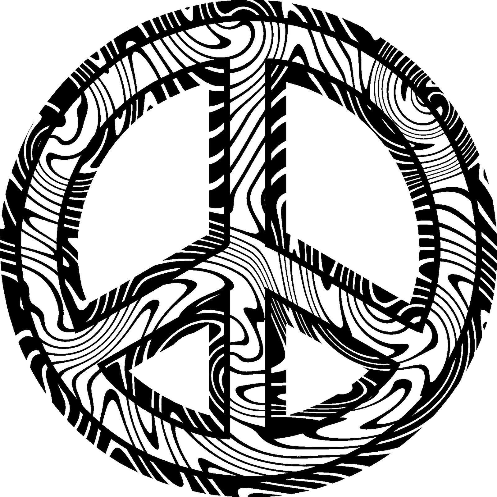 Simbolo Paz - Dibujalia - Dibujos para colorear - Paz y No ... | Día ...