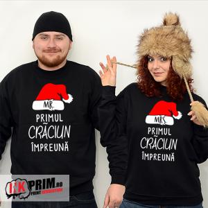 drăguţ online de vânzare ajunge ieftin Set Sweatshirt Cuplu - Primul Crăciun împreună | Hanorac, Cupluri ...