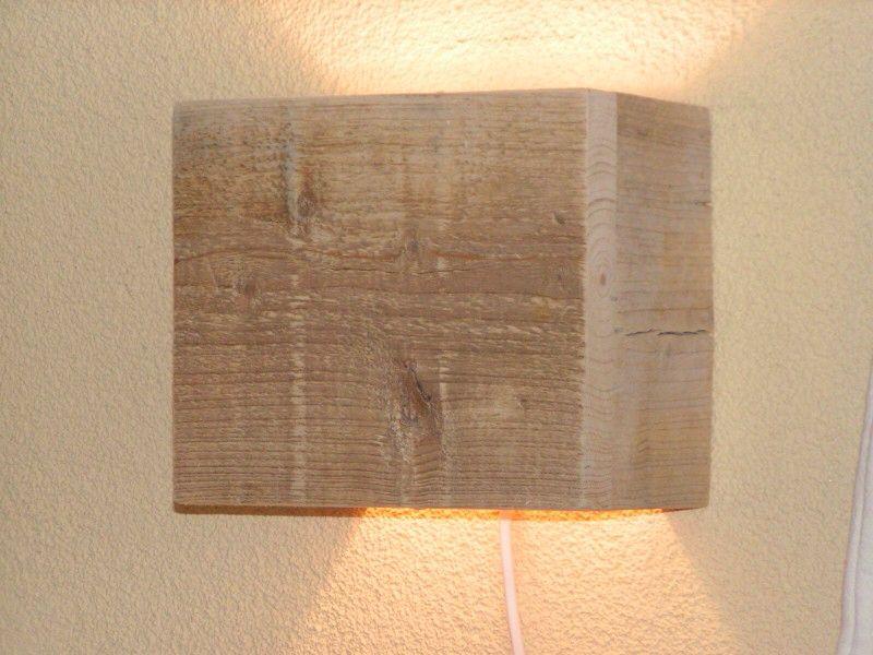 Wandlamp Steigerhout Slaapkamer : Leuke wandlampjes van steigerhout voor in de woonkamer moodboard