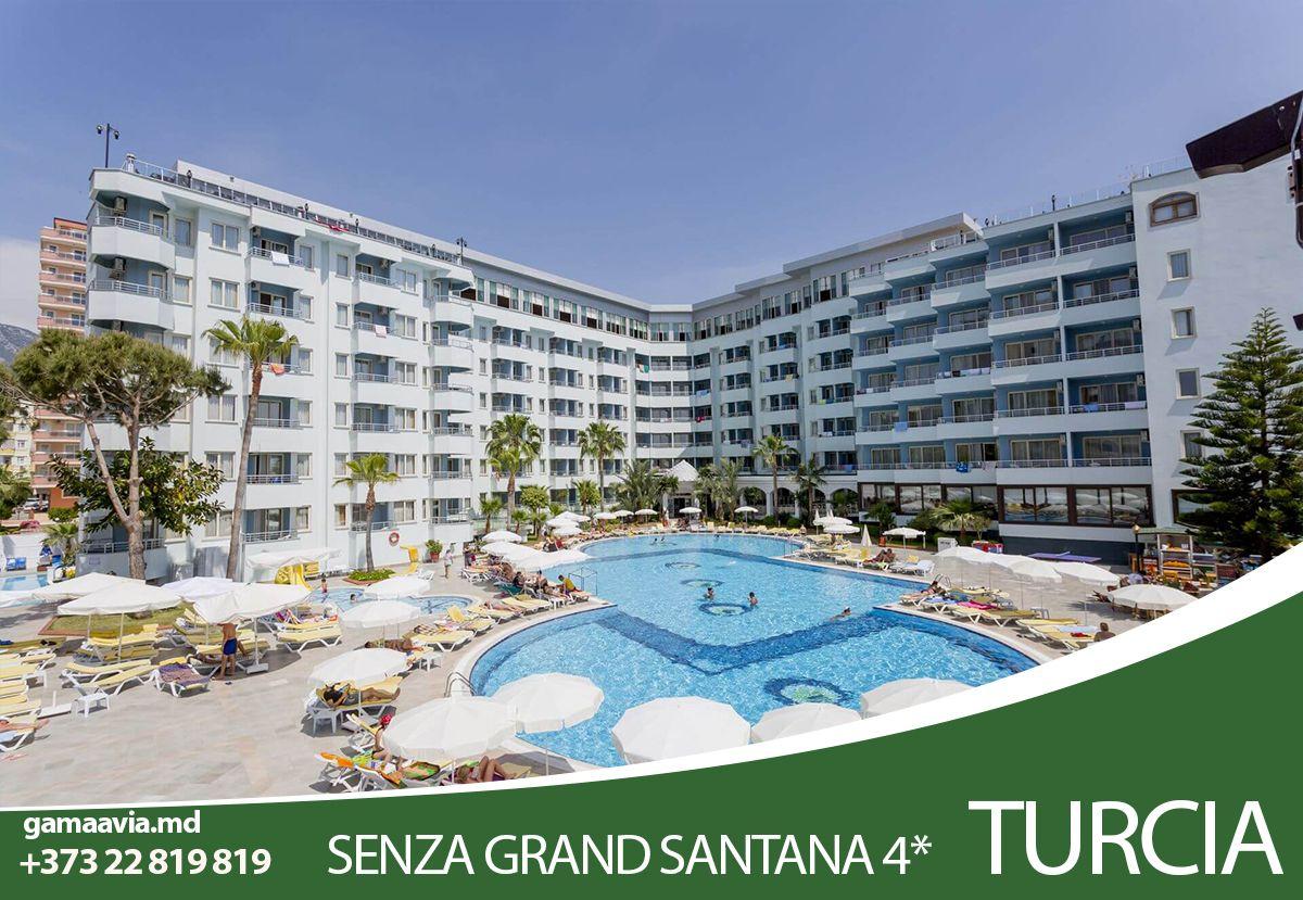 Odihna In Turcia Oferta De Vacanta La Hotelul Senza Hotels Grand Santana 5