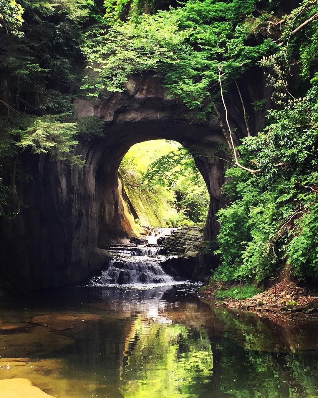 Nomizo No Taki Fall In Shimizu Keiryu Park Chiba Japan Japan Travel Bucket Lists Best Places To Travel Trip Planning