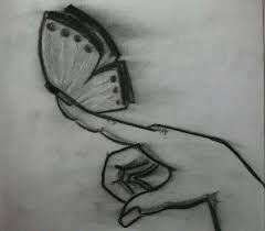 Resultado De Imagen Para Dibujo Claroscuro Mariposa Claroscuro Dibujo Claroscuro Dibujos