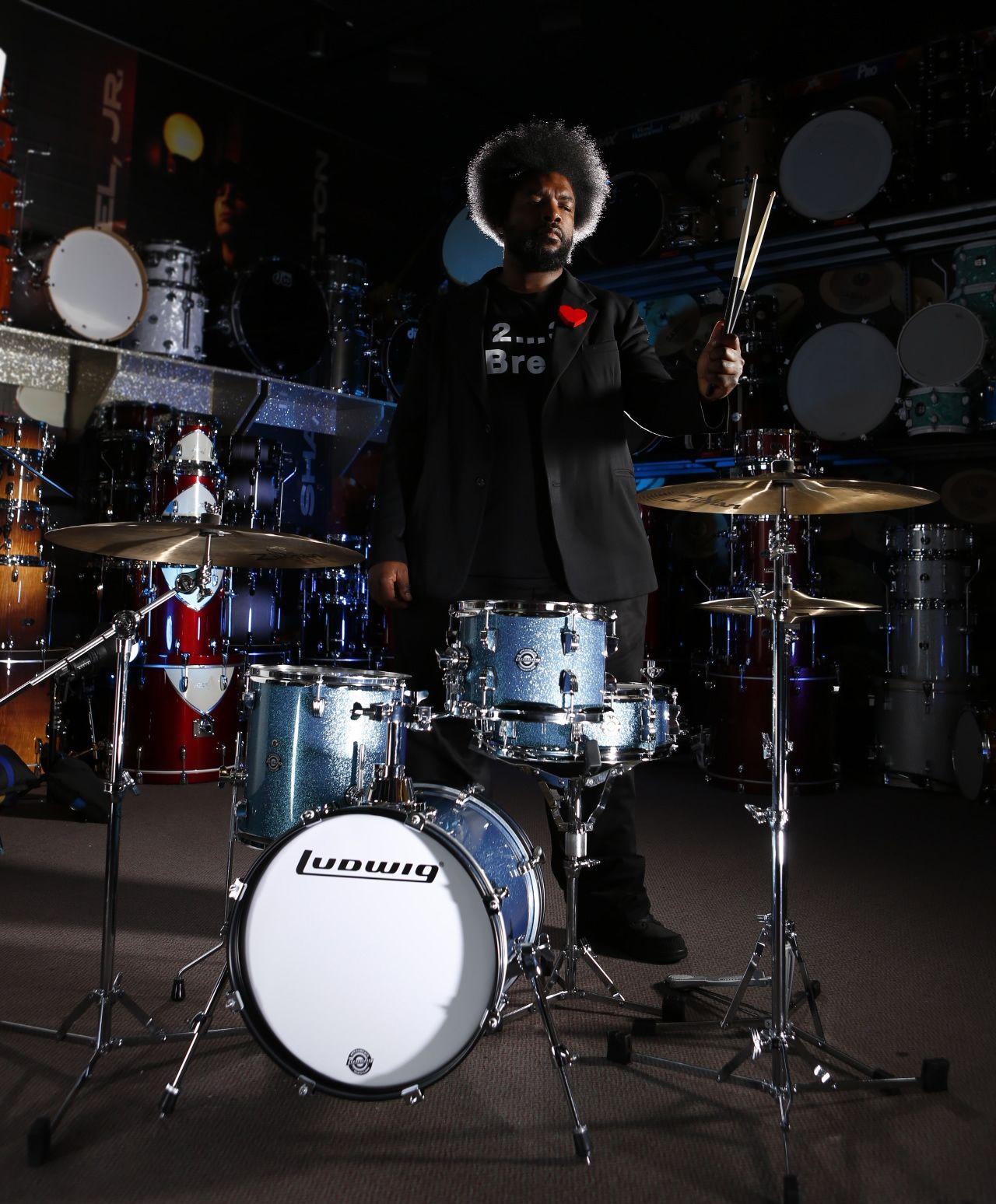 Breakbeats Drums, Ludwig drums, Drum set