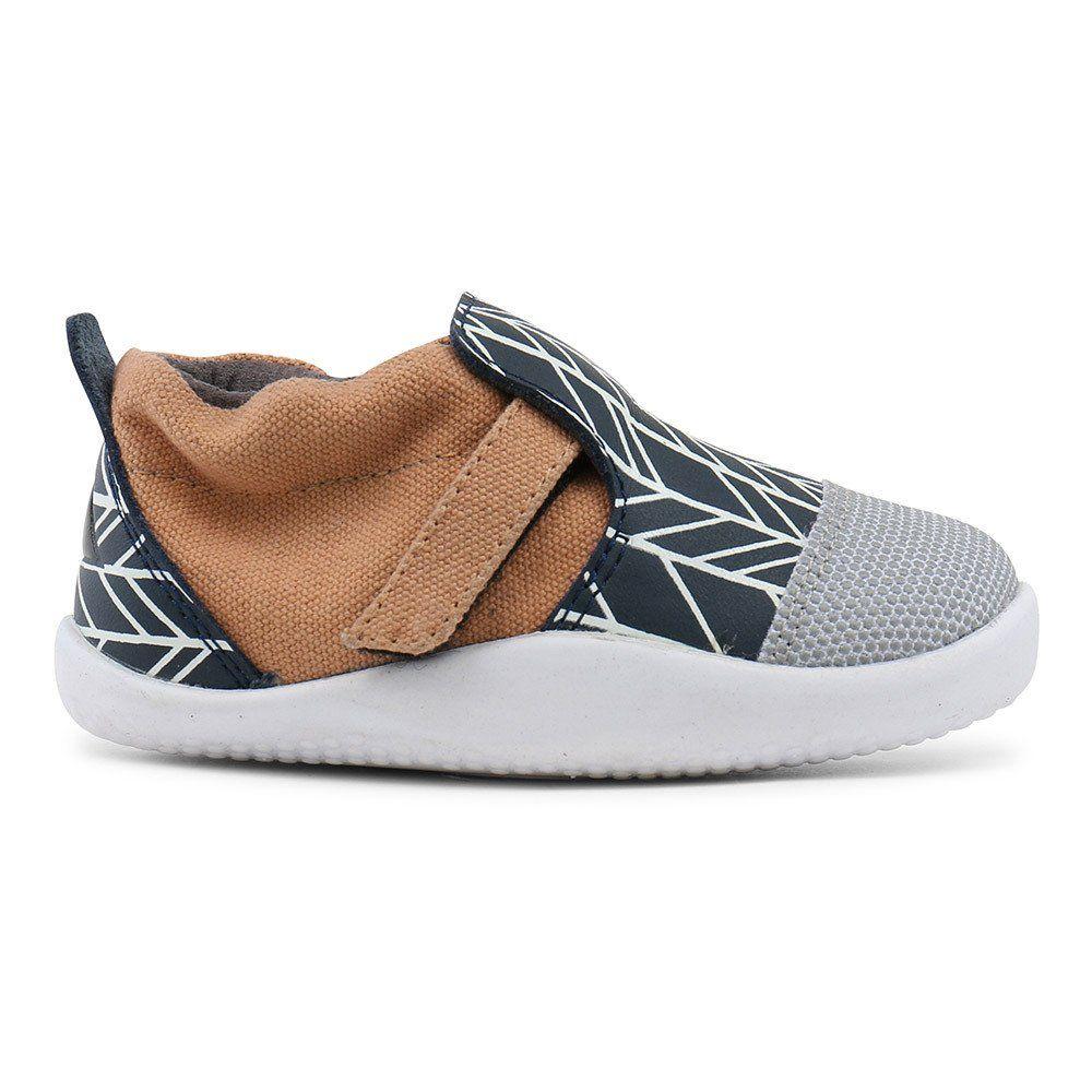 Bobux Stepup Xplorer City Xplorer Ballantynes Navy And White Kid Shoes Slip On Sneaker