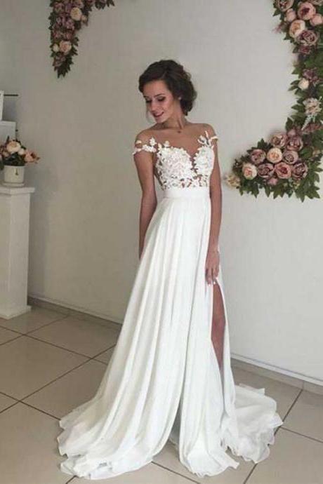Lace Wedding Dress Beach Wedding Dress White Dresses Ball Gown Flowy Wedding Dress Bridal Dress Lace Wedding Dress Boho Wedding Dress In 2020 Puffy Wedding Dresses Wedding Dress Sleeves Boho Wedding Dress Lace