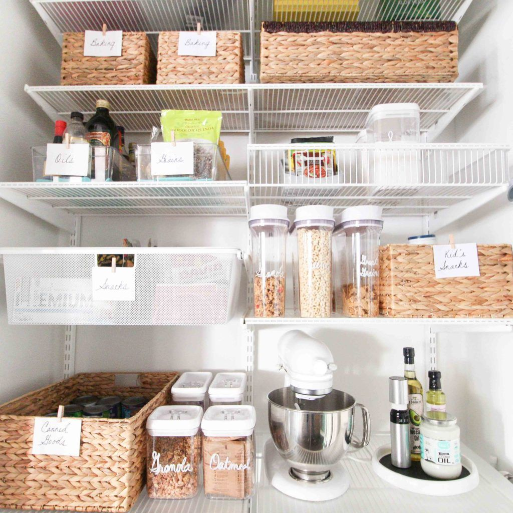 Messy Kitchen Pantry: How To Organize A Pantry On A Budget
