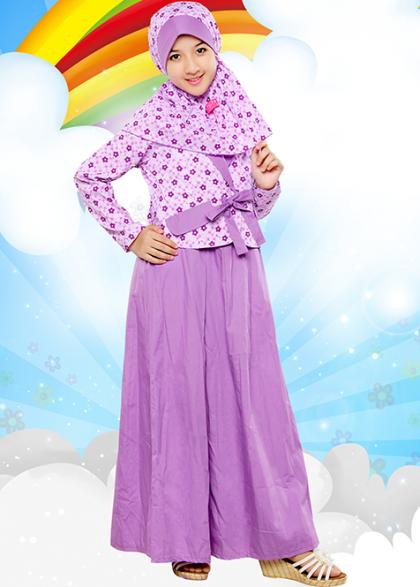 Model Baju Muslim Anak Perempuan Model Busana Pinterest Muslim