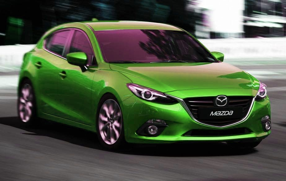 This Green Mazda Is Ready For Today S Celebration No Pinching
