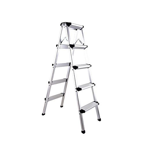Fine Zxl 5 Step Stools Non Slip Folding Step Ladder Kitchen Stool Machost Co Dining Chair Design Ideas Machostcouk