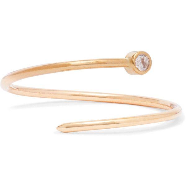 Beaufille Pistol 10-karat Gold Diamond Earring dm9DyMH