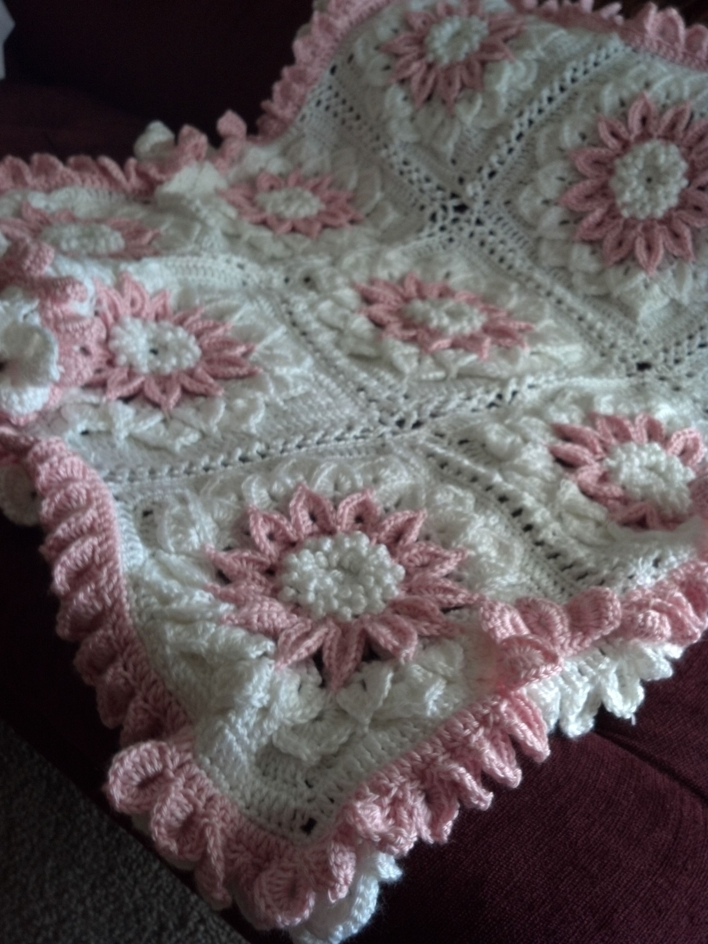 croc baby blanket...I just finished it! | Crochet Squares ...