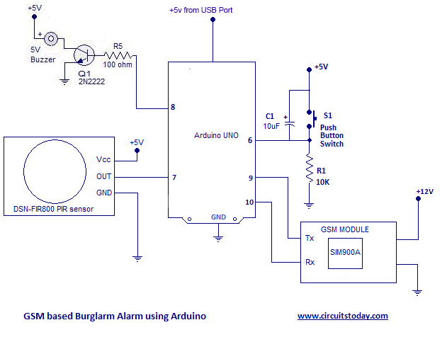 microcontroller based mini projects with circuit diagram pdf