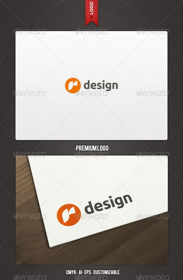 R Design Logo Template  Logo Templates Logos And Business Company