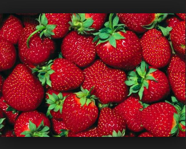 Strawberries are the best!! One of my favorite fruits to eat!!