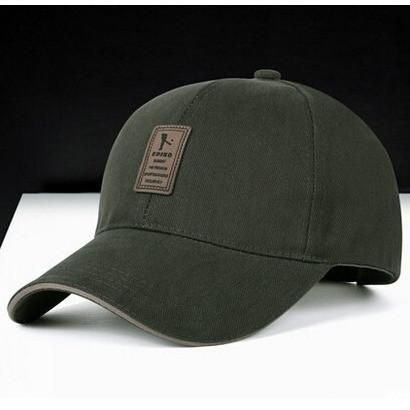 e2b13be3979 Cotton Baseball Cap Sports Golf Snapback Outdoor Simple Solid Hats ...