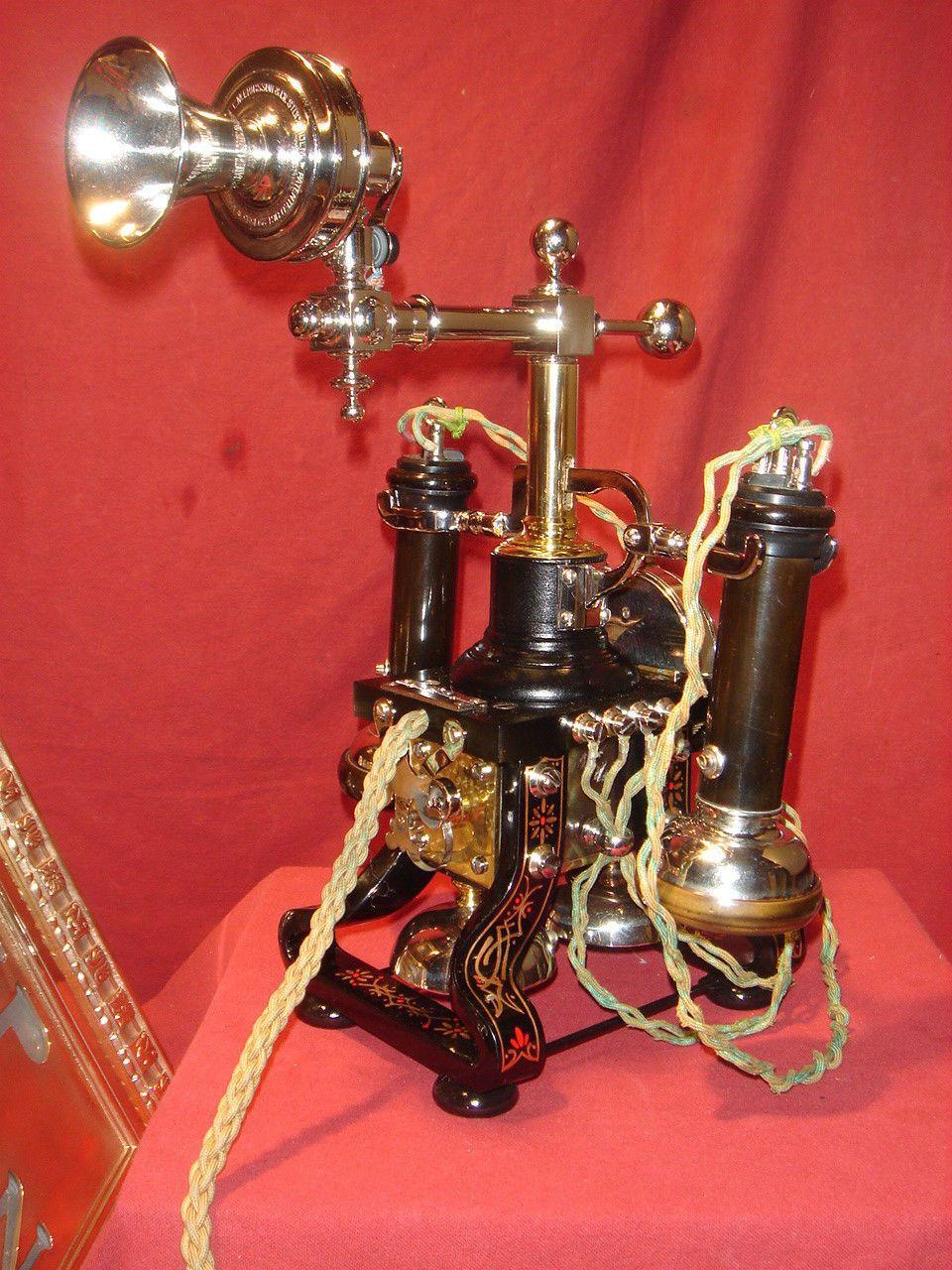 Antique Ericsson Eiffel Tower Telephone 1880's RARE Museum