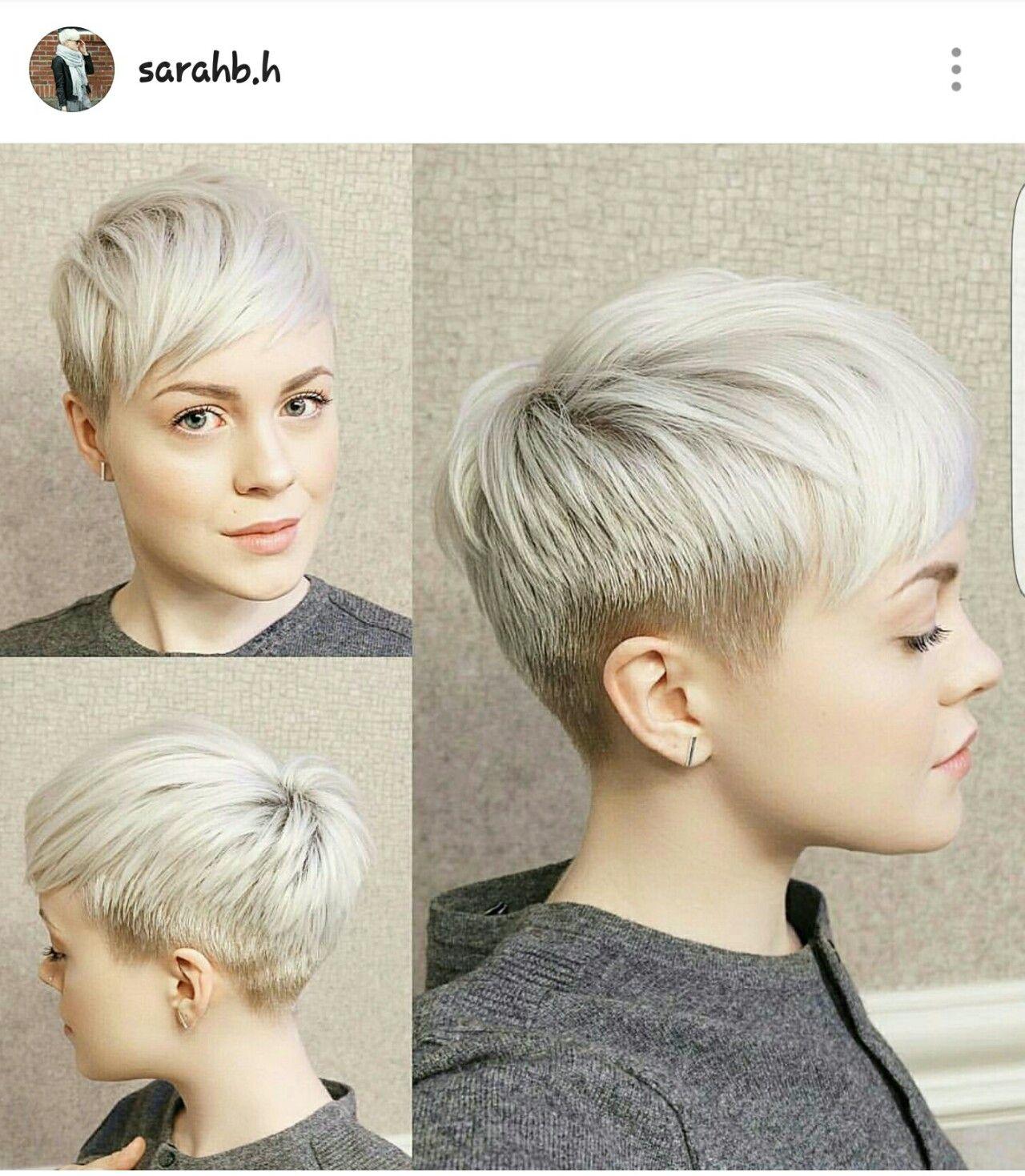 Épinglé par Kristina King sur Hair Ideas Cheveux courts