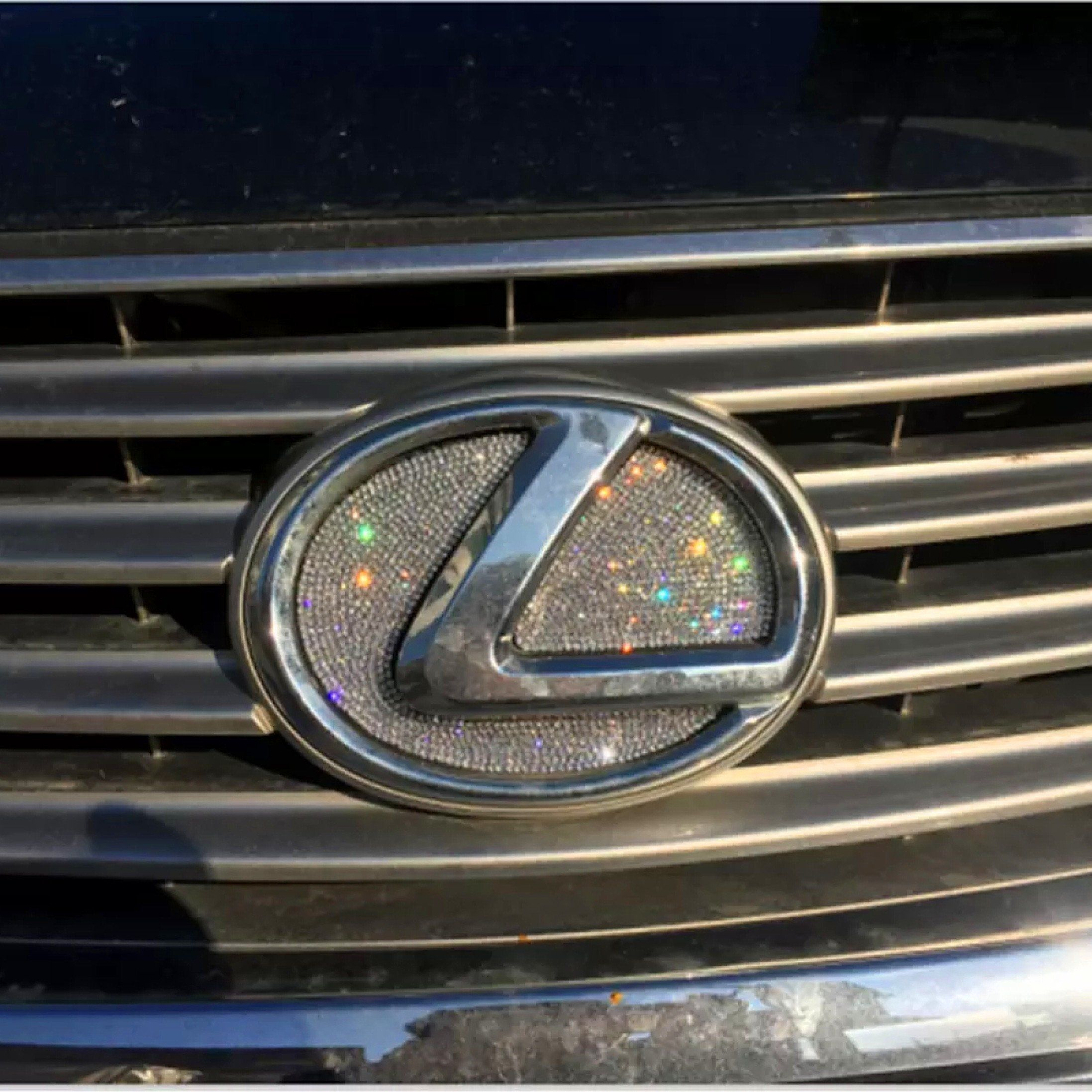 Bling Toyota Logo Front Or Rear Grille Emblem Decal Made W Rhinestone Crystals Bling Car Accessories Toyota Logo Toyota Accessories [ 1440 x 1080 Pixel ]
