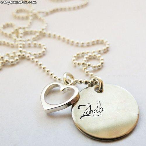 zohaib name style