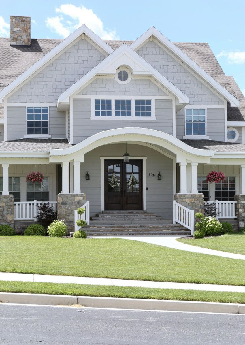 What Are The Home Exterior Trends Of The Moment Gray House