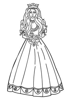 Ausmalbild Prinzessin Princess Printables Princess Coloring Pages Princess Coloring