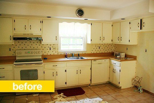 Kitchen Before & After: A Vintage Kitchen Opens Up (and Gets More ...