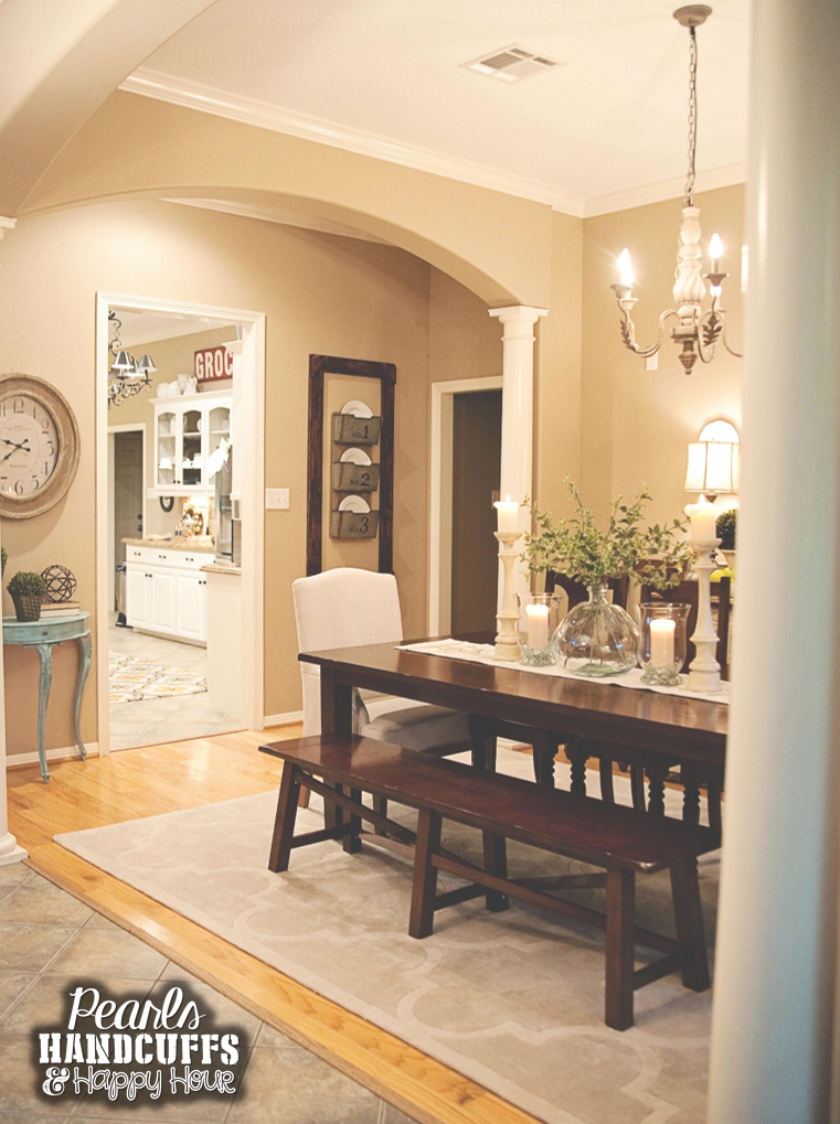 Home Tour Tuesday  The Notsoformal Dining Room  Home Extraordinary Walk Through Dining Room Review