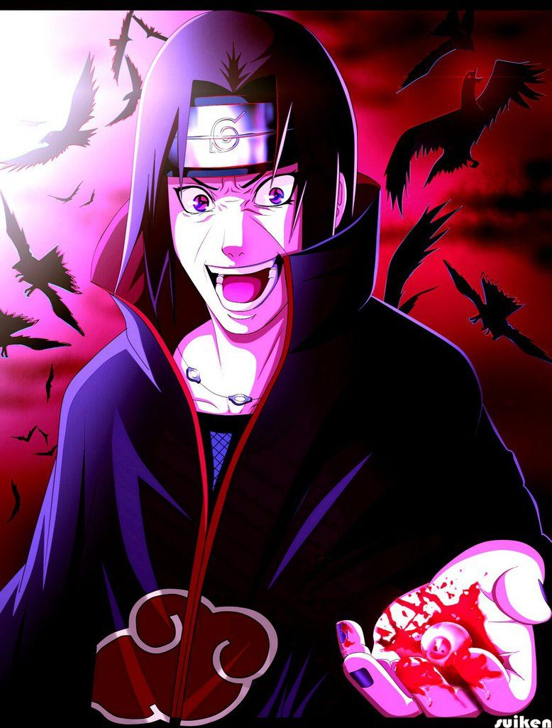 Psycho Itachi is back by on