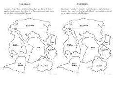 continental drift worksheet   Google Search   География ...