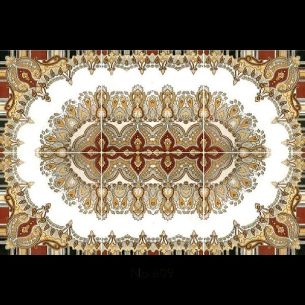 609 Victory Five Rangoli Tiles 1200x1800mm Ceramic Floor Tiles Tiles Border Tiles