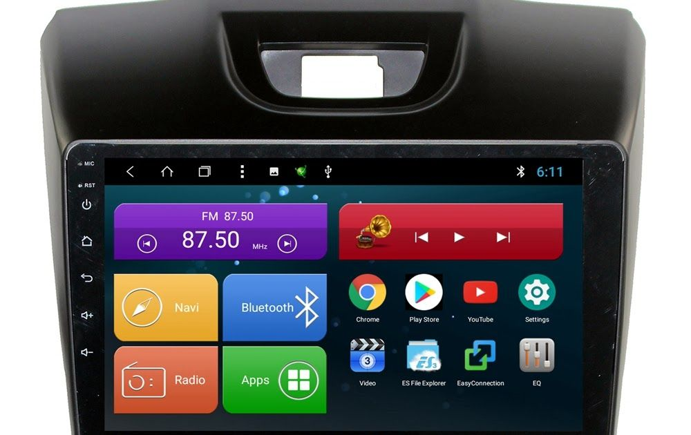 Best Seller 9 inch Octa Core Android 8 1 Car Head Unit for Isuzu D