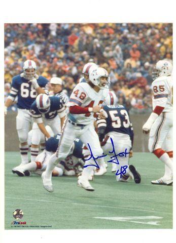 36a065c42 Autographed Tim Fox New England Patriots 8x10 Photo