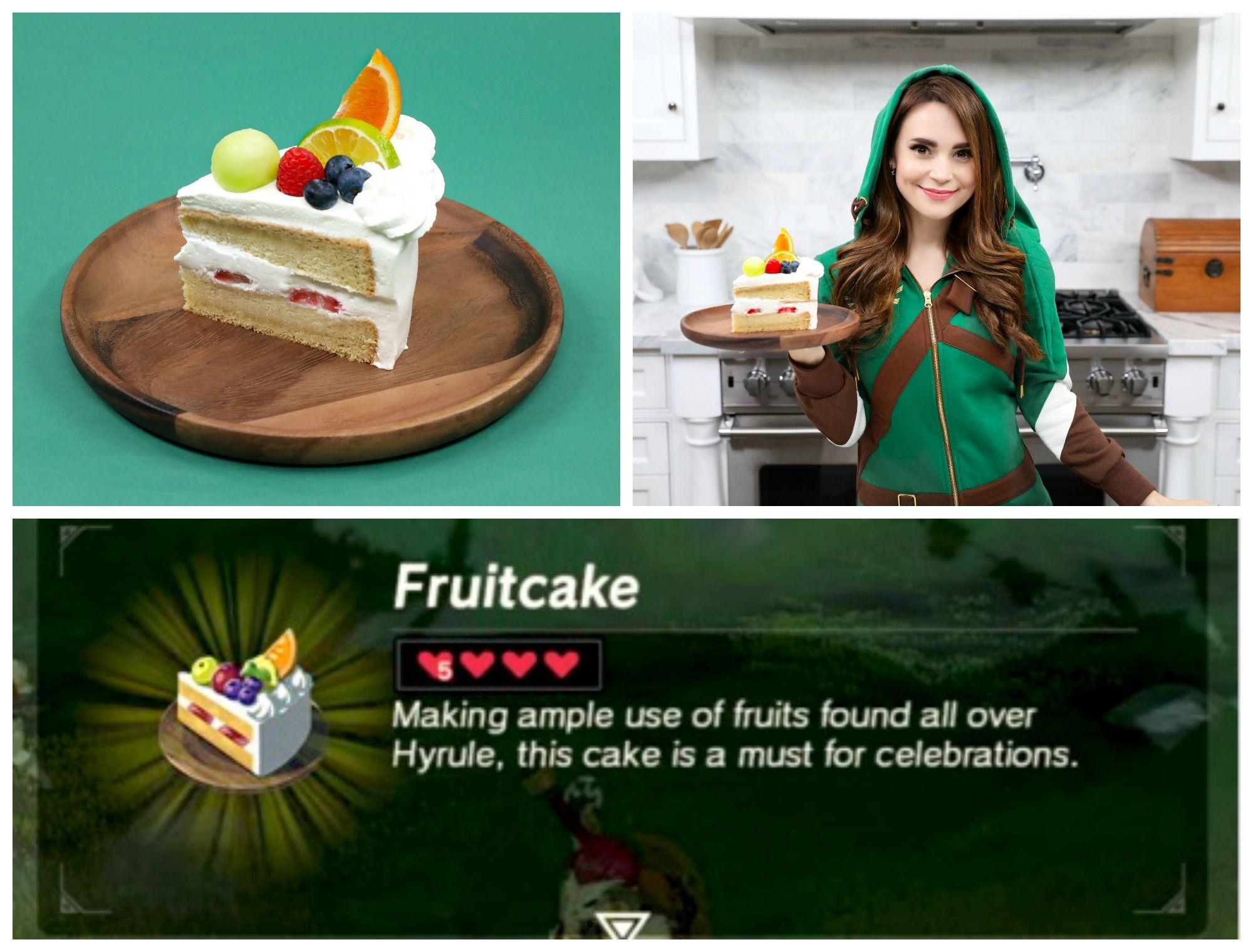 Nerdy Nummies Zelda Cake