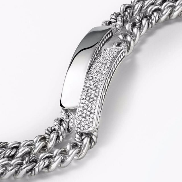 Make Her Shine On Graduation With A Pee Pavé Id Bracelet From David Yurman