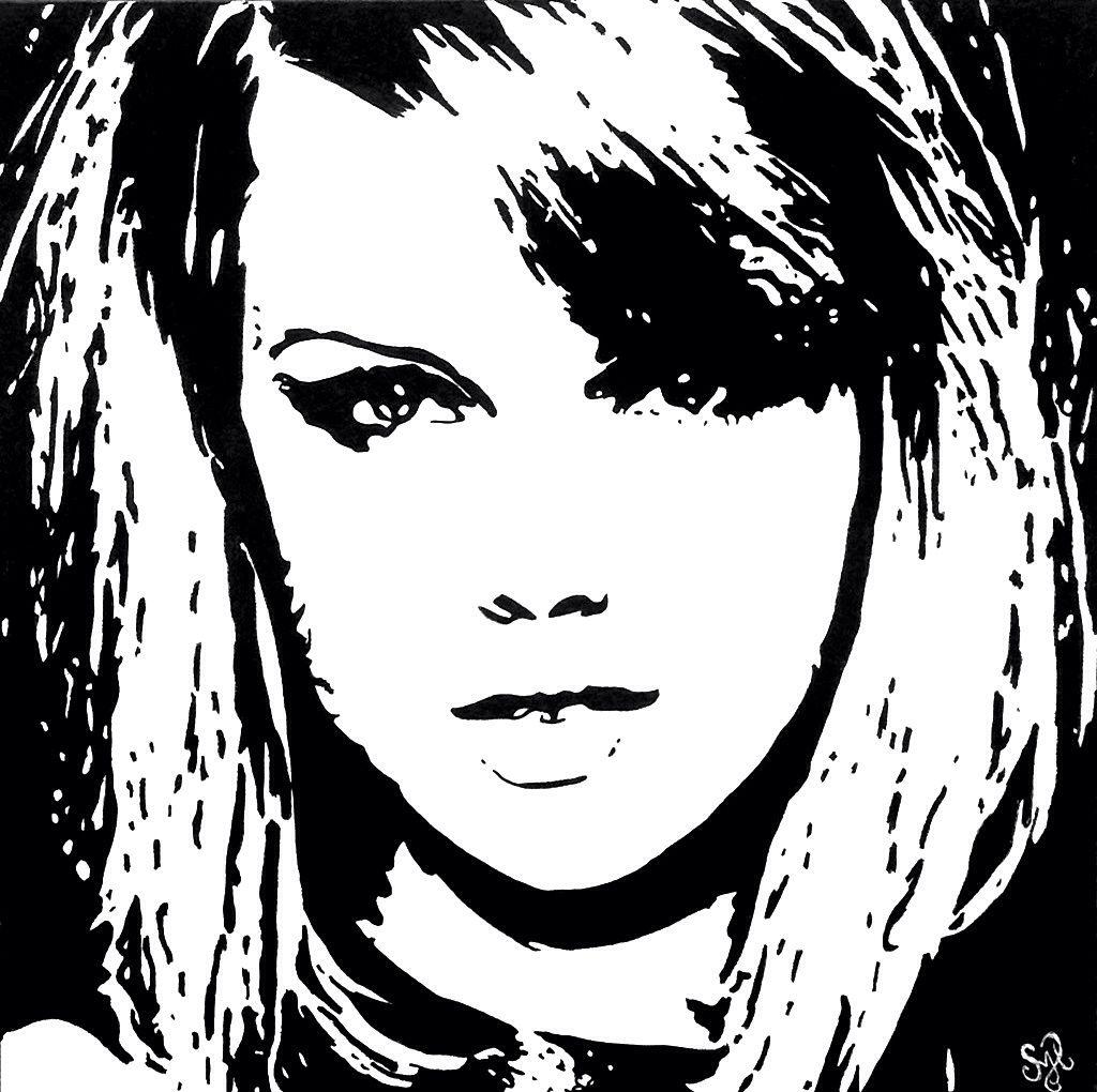 "Download ""Taylor Swift"" painting by Shon Hudspeth www.shonsart.com ..."